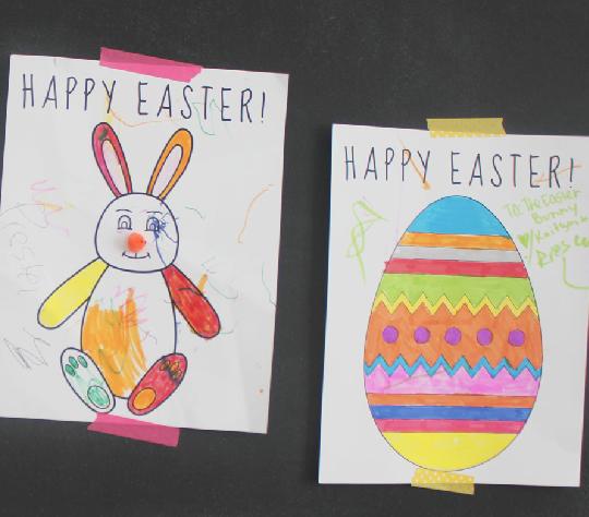 Easter art
