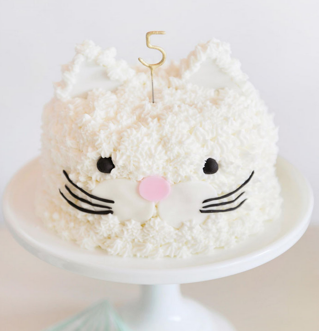 the perfect cat cake