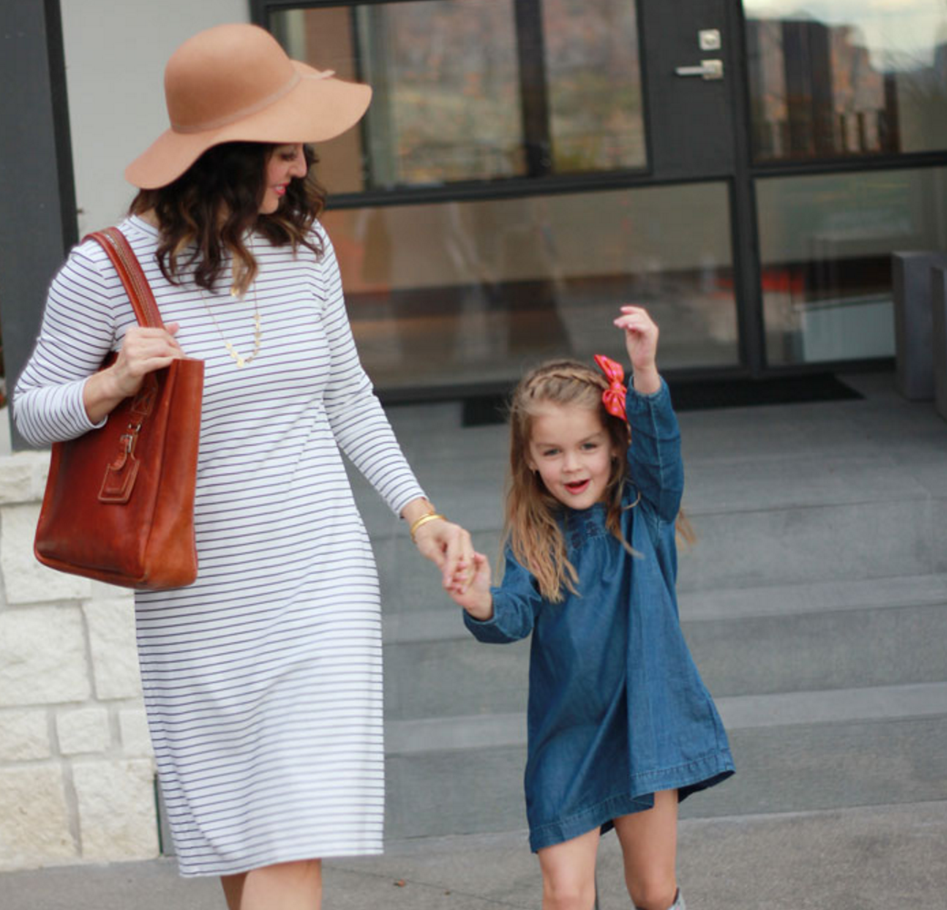 fall fashion for you mama and your mini me