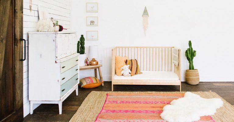 bohemian-chic-nursery-style