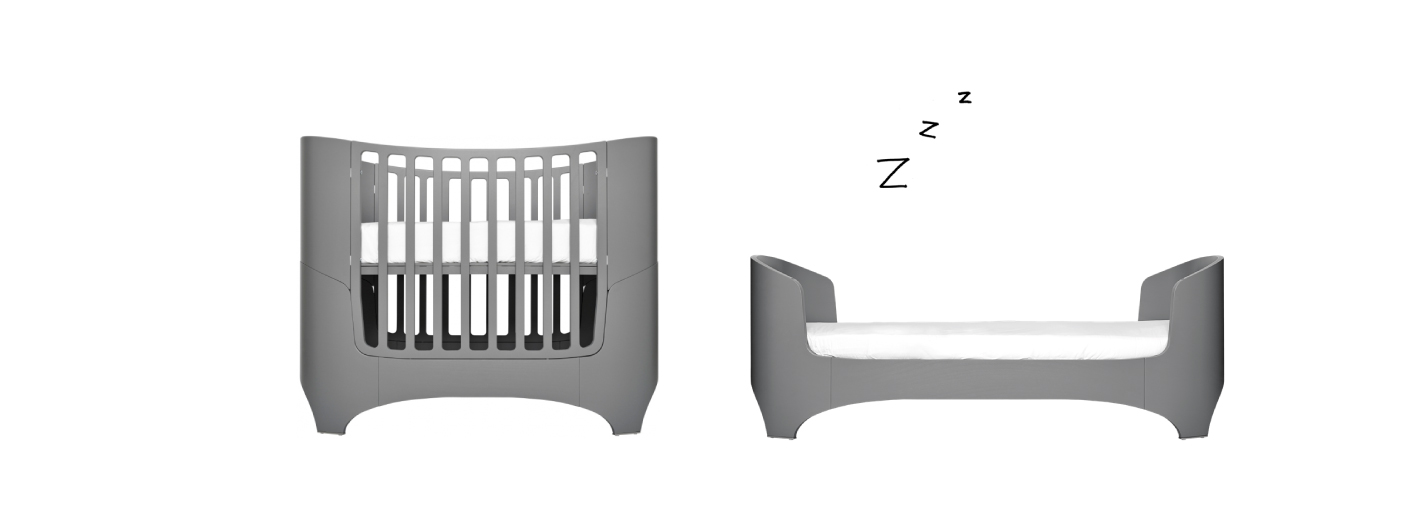 leander-3-in-1 crib from crib to twin bed