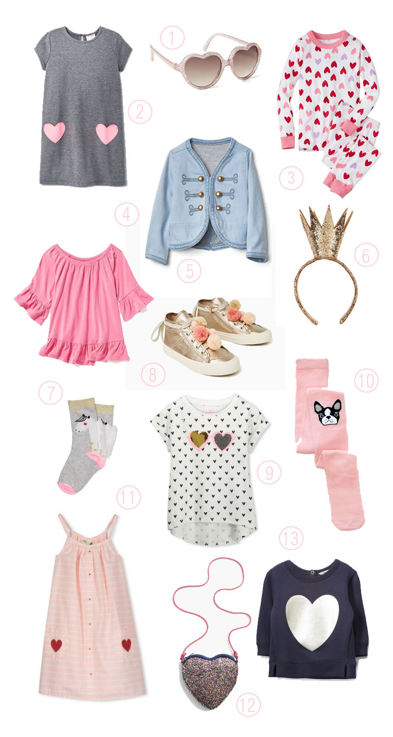 heart inspired goodness for your little lady