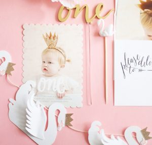 swan princess inspired first birthday party!