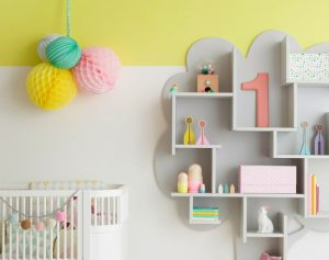 On Trend: Color block walls