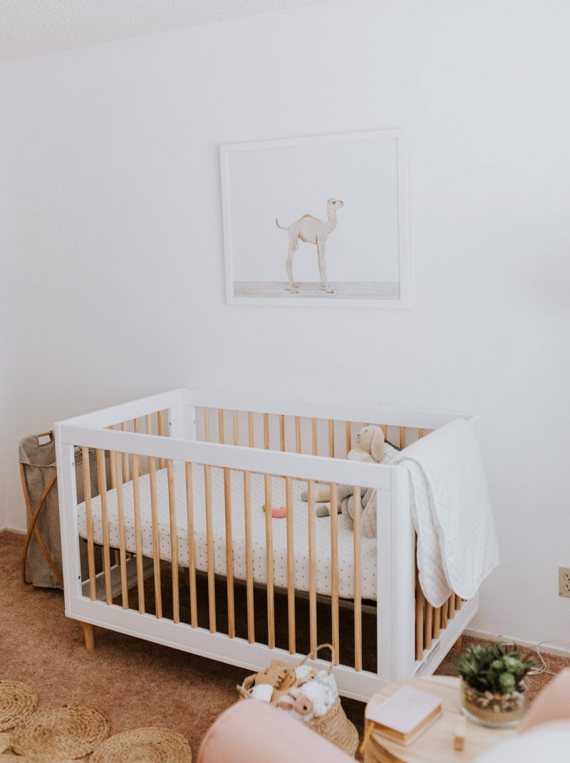 Sweet Minimalist Nursery Reveal With Latisha Springer