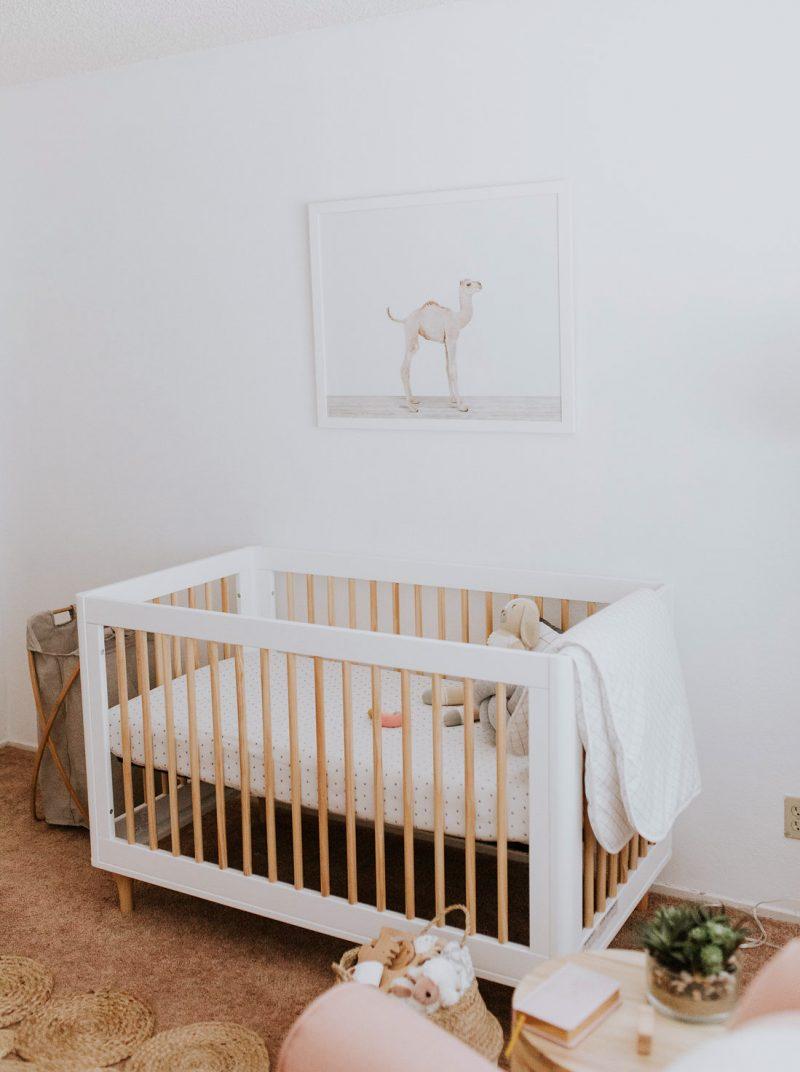 sweet minimalist nursery