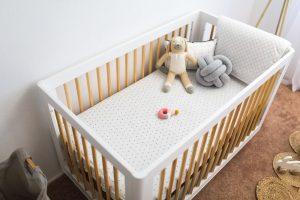 Sweet Minimalist Nursery Reveal with LaTisha Springer + Room Giveaway