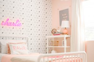 Name in lights….little girls room refresh