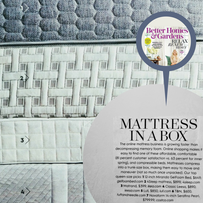 Better Homes- and gardens featured 4 sleep mattress