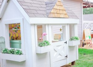 DIY  Dream Playhouse—detailed plans to GET THE LOOK