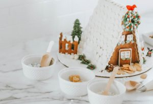 DIY Gingerbread House with the Entire Family