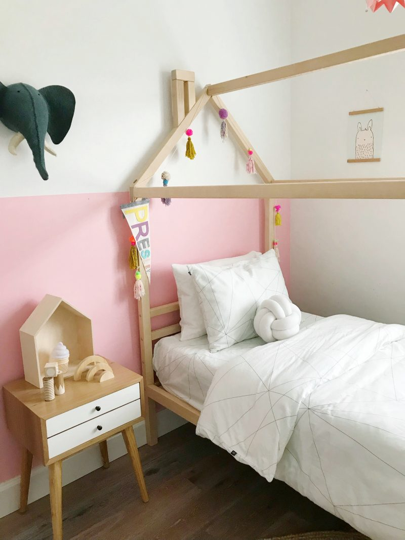 house bed dreams coming true...little girls room makover