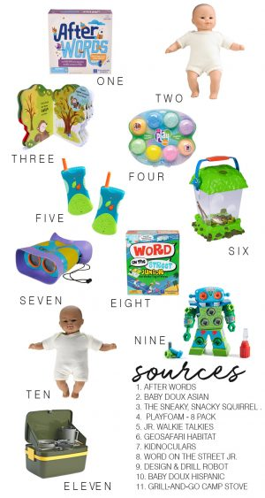 favorite toy gift guide + giveaway