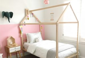 house bed dreams coming true…little girls room makeover