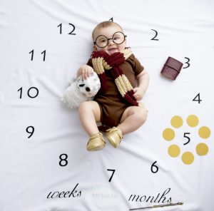 Baby Photoshoot in a box….monthly subscription
