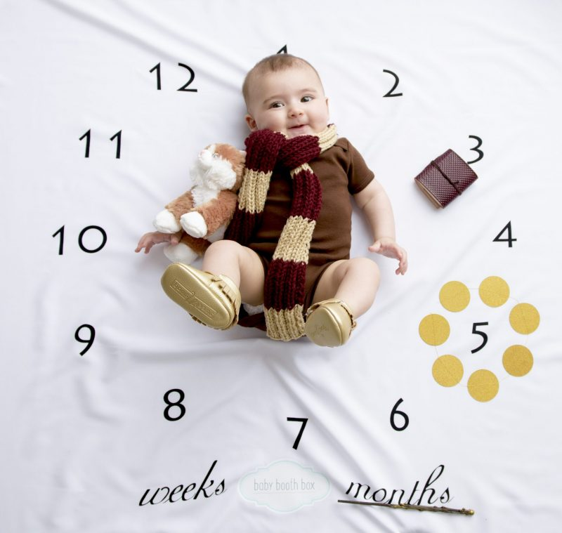 baby photoshoot in a box monthly subscription destination nursery