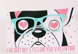 I've got my eyes on you Valentine DIY