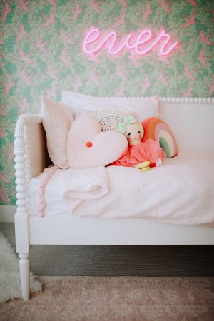 Little Girls Pink Glam Room Reveal