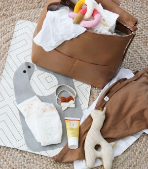 Baby Essentials: What's in our diaper bag? + a giveaway