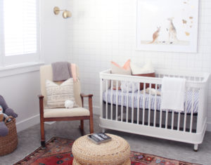 mid century modern nursery reveal + Room giveaway