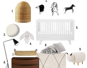 GET THE LOOK: gender neutral nursery