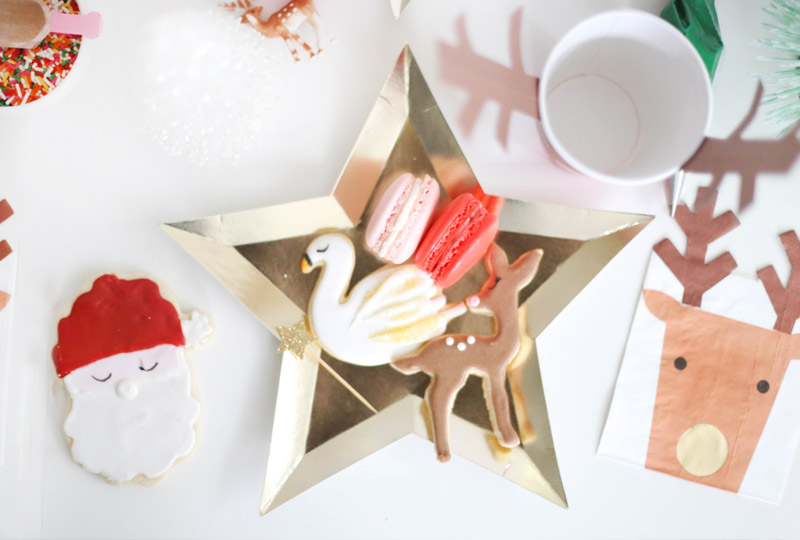 little holiday cookie party