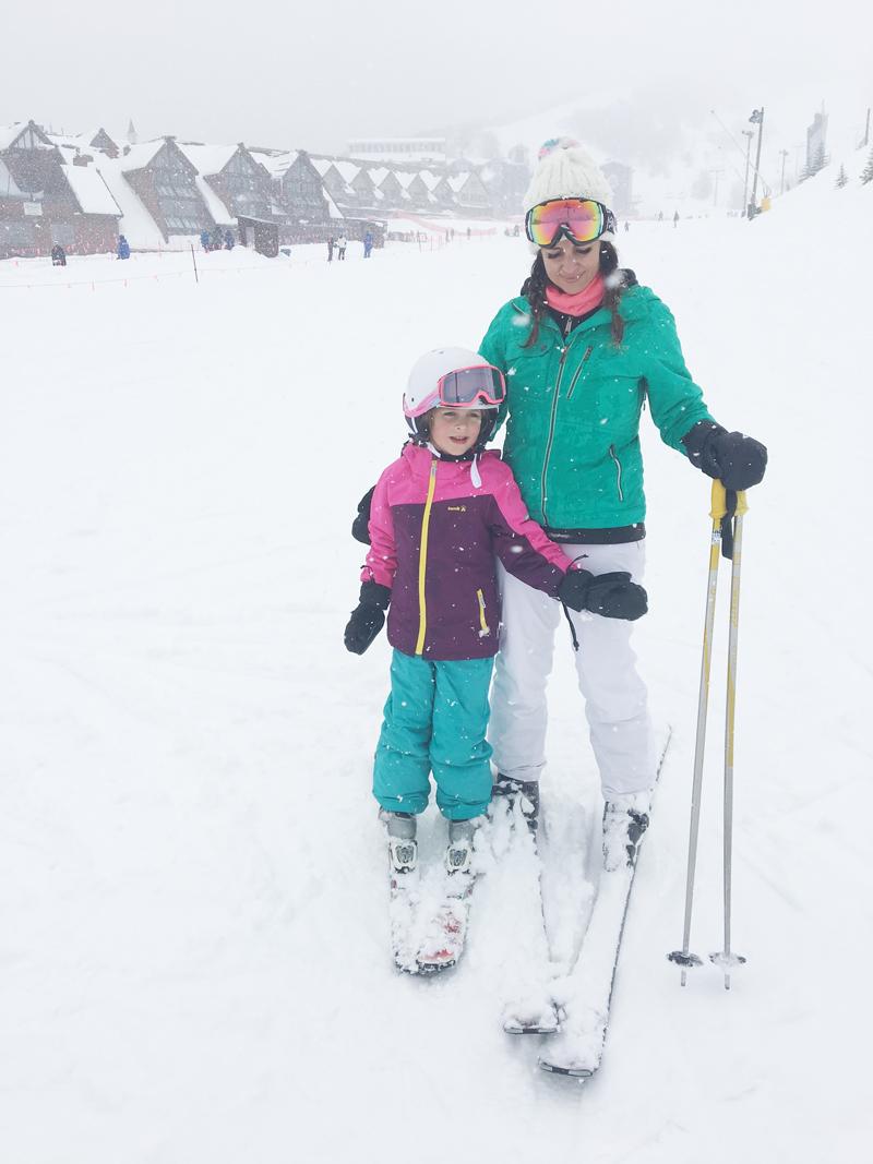 gearing up...skiing at park city