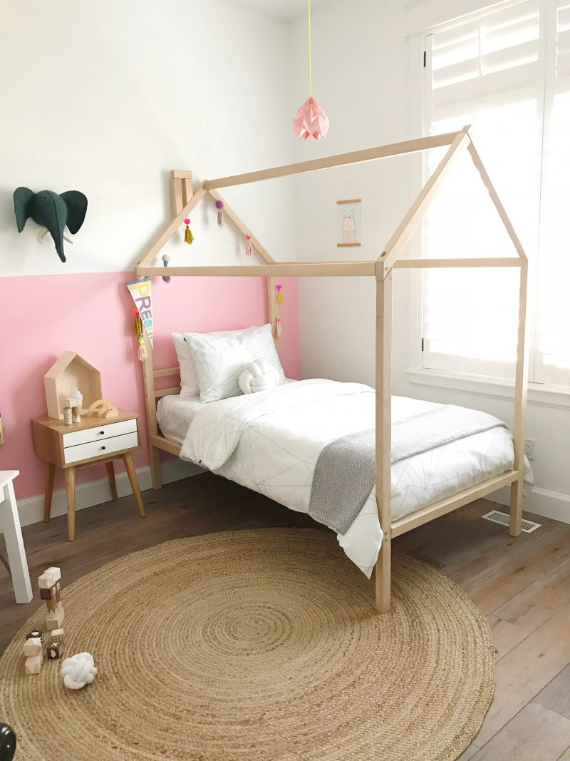 house bed dreams coming true...little girls room makeover